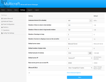 Multicraft The Minecraft Hosting Solution - Minecraft server erstellen windows 7